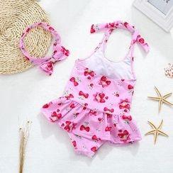 Hokit - 儿童印花连体泳衣