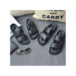 Remember Click - Faux-Leather Slippers