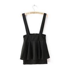 JVL - Ruffle Suspender Skirt
