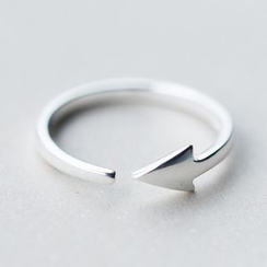 A'ROCH - Arrow 925 Sterling Silver Open Ring