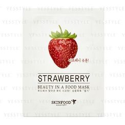 Skinfood - Beauty In A Food Mask Sheet (Strawberry)