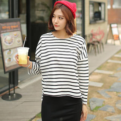 Envy Look - Cotton Stripe T-Shirt