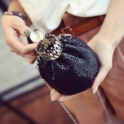 Secret Garden - Metallic Crossbody Bag