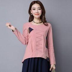 Diosa - Long-Sleeve Panel T-Shirt