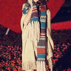 Rita Zita - 民族风印花围巾