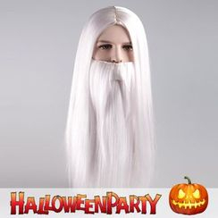 Party Wigs - Halloween Party Wigs - White Fairy