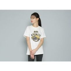 Envy Look - Short-Sleeve Printed T-Shirt