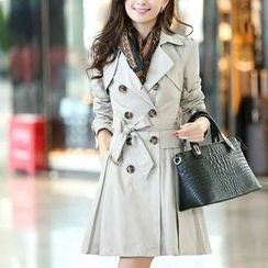Ringnor - Double-Breasted Trench Coat