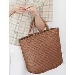 FROMBEGINNING - Woven-Straw Tote