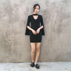 GAGAI - Cutout Sheath Dress