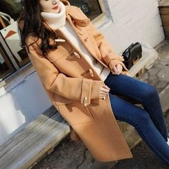 7th Mansion - Long Hooded Duffle Coat