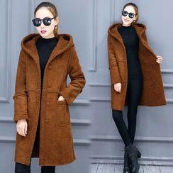 Mandalle - Fleece Hooded Coat
