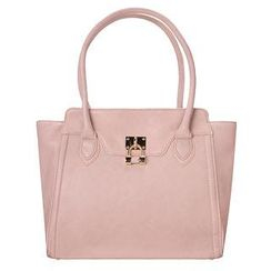 ans - Padlock Accent Tote