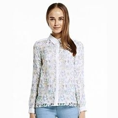 O.SA - Long-Sleeve Floral Shirt