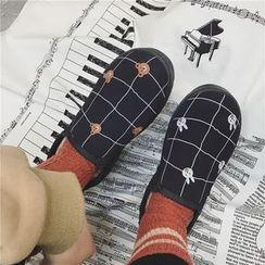 Hipsole - Fleece-Lined Slip-Ons