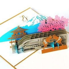ByHeart - Fuji Mountain 3D Greeting Card