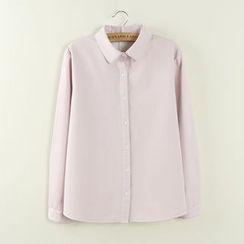 Tangi - 纯色衬衫