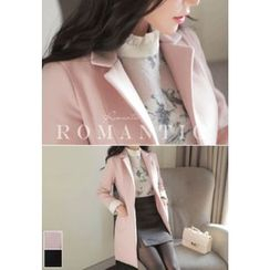 MyFiona - Notched-Lapel Slim-Fit Coat