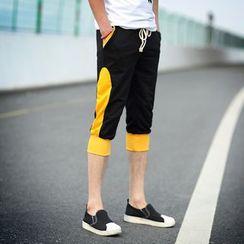 百高 - 插色运动短裤