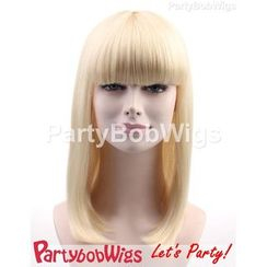 Party Wigs - PartyBobWigs - 派對BOB款長假髮 - 金色