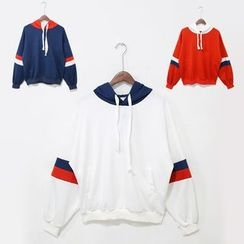Mr. Cai - Color Block Hoodie