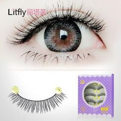 Litfly - Set of 5 pairs: False Eyelashes  #7X