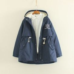 Softies - Embroidered Hooded Parka