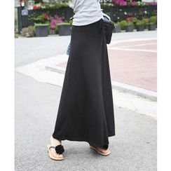 DANI LOVE - Drawstring-Waist Maxi Skirt