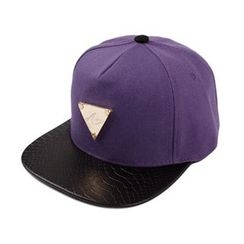 Ohkkage - Logo-Front Color-Block Baseball Cap
