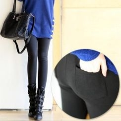 Jcstyle - Fleece-Lined Leggings