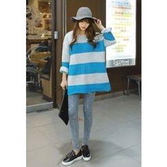 REDOPIN - Color-Block Sweater