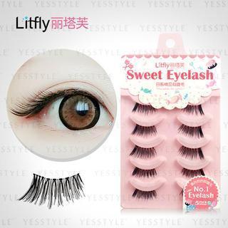 Litfly - Eyelash #104 (5 pairs)