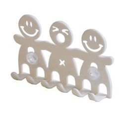 ioishop - Toothbrush Hanger - White
