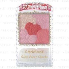 Canmake - Glow Fleur Cheeks (#06 Milky Red Fleur)