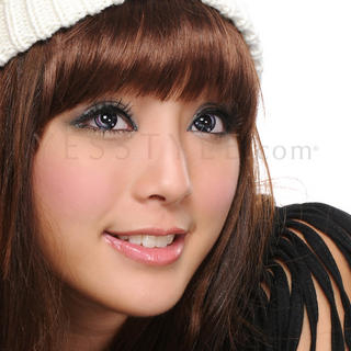 GEO - Special Lens CP-A6 (Pink/Black) [P-0.00 ONLY]