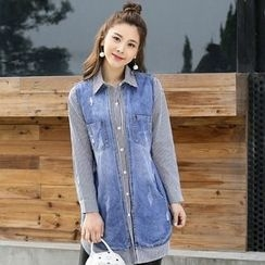 Romantica - Striped Long-Sleeve Shirt
