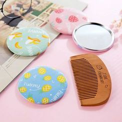 Home Simply - 印花镜梳套装