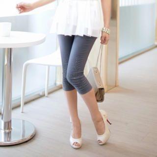 Tokyo Fashion - Cotton Cropped Pants