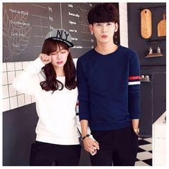 Azure - Couple Stripe Pullover