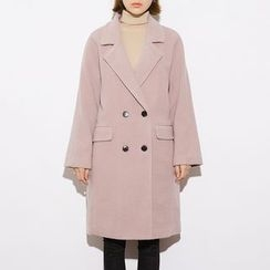 Heynew - Double-breasted Wool Coat