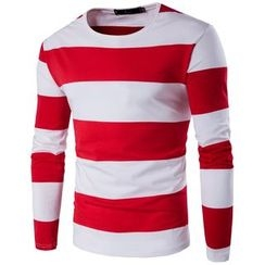 Fireon - Striped Long-Sleeve T-Shirt
