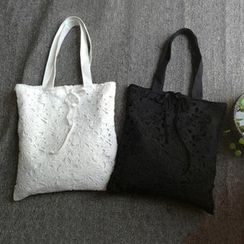 TGIF - Lace Shopper Bag