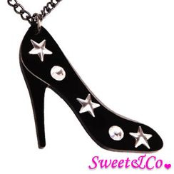 Sweet & Co. - XL Star Studs Swarovski Crystals Necklace