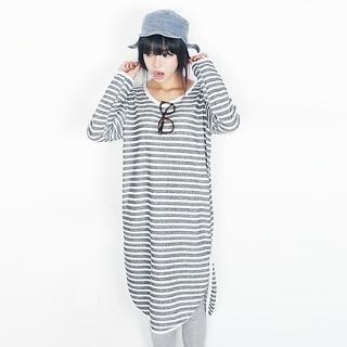 Beccgirl - Stripe T-Shirt Dress