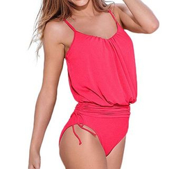 Kasumi - Ruched Waist Swimsuit