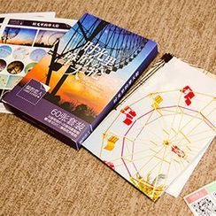 Cute Essentials - Ferris Wheel Postcard Set (60 pcs)