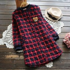 YOYO - Quilted Plaid Coat