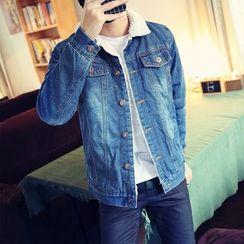 JORZ - Fleece Lined Denim Jacket