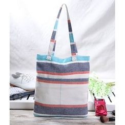 Aoba - Striped Tote Bag