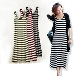 ELI Queen - Striped Midi Tank Dress